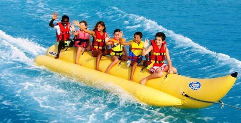 banana ride in goa, cruises in goa