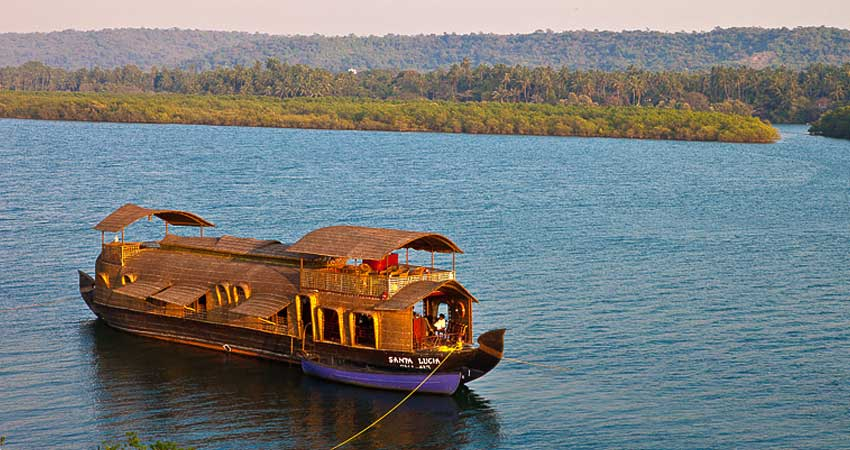 house boat in goa,cruises in goa
