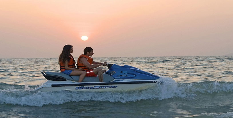 jet ski ride in goa, cruises in goa