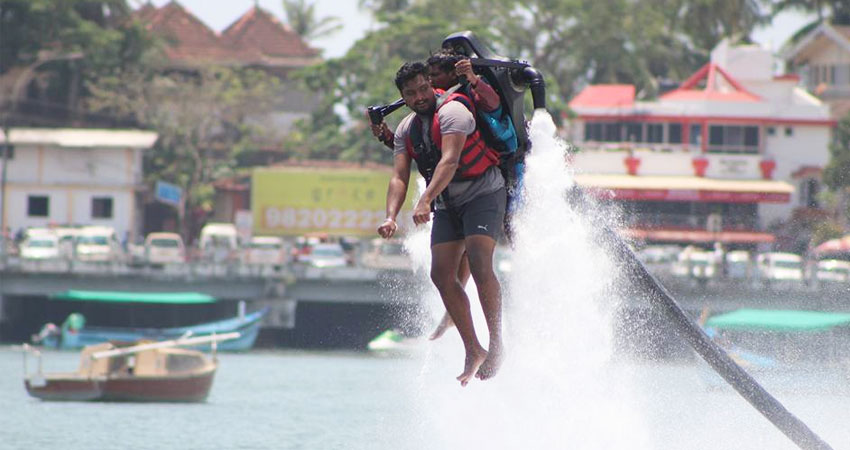 jetlev flyer in goa, cruises in goa