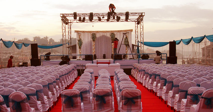 goa wedding on cruise