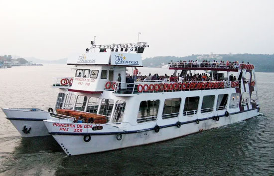 pricessa cruise goa