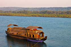 house boat in goa, cruises in goa